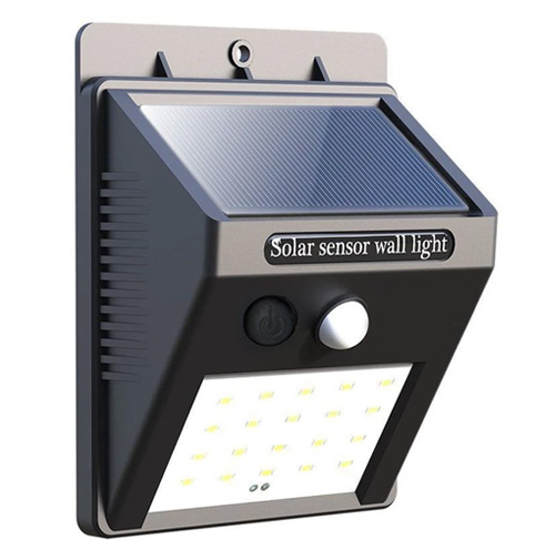 Solar Sensor Light studio shot