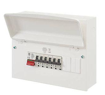 Main switch consumer unit