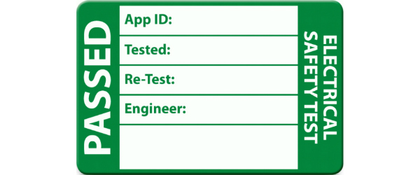PAT Test Passed Sticker